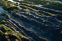 Monte Clerigo Beach, Rocky sea landscape, Southwest Alentejo and Vicentine Coast Natural Park, Portugal