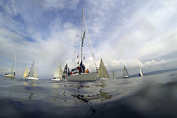 The Silvers Marine Scottish Series 2014, organised by the  Clyde Cruising Club,  celebrates it's 40th anniversary.<br /> <br /> CV Trumble Too<br /> Final day racing on Loch Fyne from 23rd-26th May 2014<br /> <br /> Credit : Marc Turner / PFM