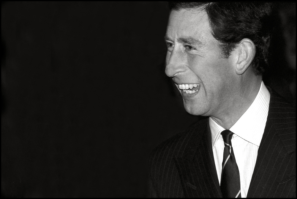 """Prince Charles of Wales delivered the keynote speech at Harvard University's 350th anniversary convocation on September 4, 1986 in recognition of Harvard's ties to Cambridge University. He also attended a Harvard Graduate School of Design symposium entitled, """"The Future of the City: the Next 50 Years"""", during his three day visit to the university."""