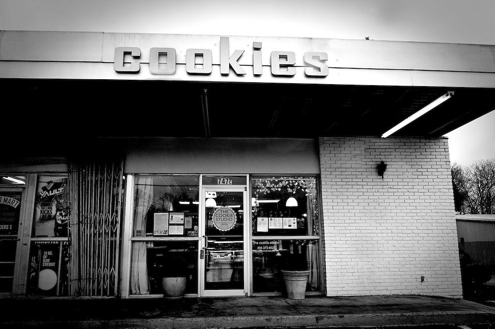 Outside building of The Cookie Studio, Atlanta
