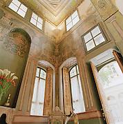 Interior decoration in the Al Mamlouka hotel in Damascus, Syria