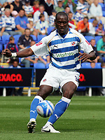 Reading FC vs Plymouth Argyle FC Championship 16/08/08<br /> Photo Nicky Hayes/Fotosports International<br /> Reading's two goal hero Ibrahima Sonko in action.