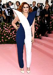 Natasha Lyonne attending the Metropolitan Museum of Art Costume Institute Benefit Gala 2019 in New York, USA.