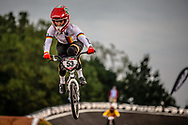 #53 (PRIES Nadja) GER [Verlu, Meybo] at Round 7 of the 2019 UCI BMX Supercross World Cup in Rock Hill, USA