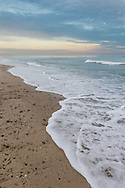 A serene end to Christmas Day on Nauset Beach.