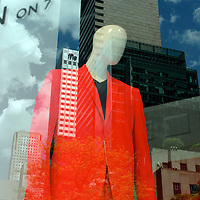 Orange suit, Saks Fifth Ave, Spring 2009