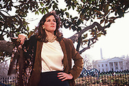 Mary Matalin in LaFayette Park<br /><br />Photograph by Dennos Brack  bb77