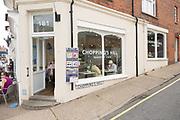Chopping's Hill cafe bakery, Aldeburgh, Suffolk, England, UK