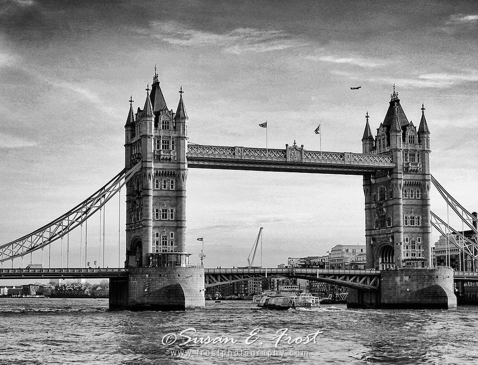 Historic Tower Bridge, London, England