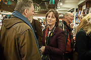 REBECCA FITZGERALD, William Fitzgerald, Book launch ,  'How to read a Latin poem - if you can't read Latin yet' published by OUP.- Daunts bookshop Marylebone, London 21 February 2013.