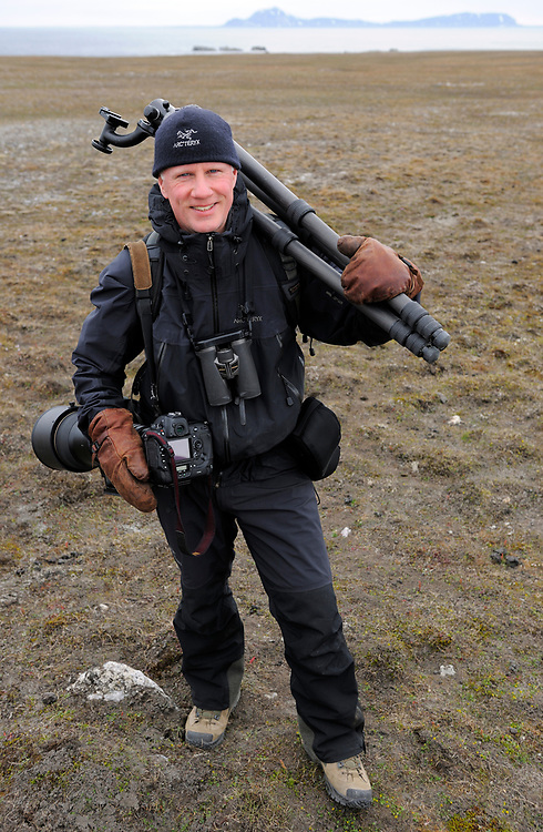Photographer Staffan Widstrand, Svalbard, Norway