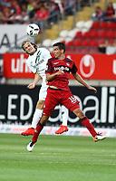 Christoph Moritz 1 FC Kaiserslautern in duel with Iver Fossum Hanover 96 1 FC Kaiserslautern vs Hanover 96 Football 2 Bundesliga 05 08 2016 Kaiserslautern <br /> <br /> Norway only