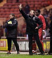 Photo: Jed Wee.<br /> Middlesbrough v Stuttgart. UEFA Cup. 23/02/2006.<br /> <br /> Middlesbrough manager Steve McClaren.