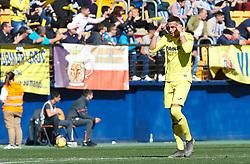 February 3, 2019 - Villarreal, Castellon, Spain - Ramiro Funes Mori of Villarreal during the La Liga match between Villarreal and Espanyol at Estadio de la Ceramica on February 3, 2019 in Vila-real, Spain. (Credit Image: © Maria Jose Segovia/NurPhoto via ZUMA Press)