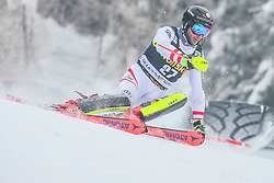 Marc Digruber (AUT) during 1st run of Men's Slalom race of FIS Alpine Ski World Cup 57th Vitranc Cup 2018, on March 4, 2018 in Kranjska Gora, Slovenia. Photo by Ziga Zupan / Sportida