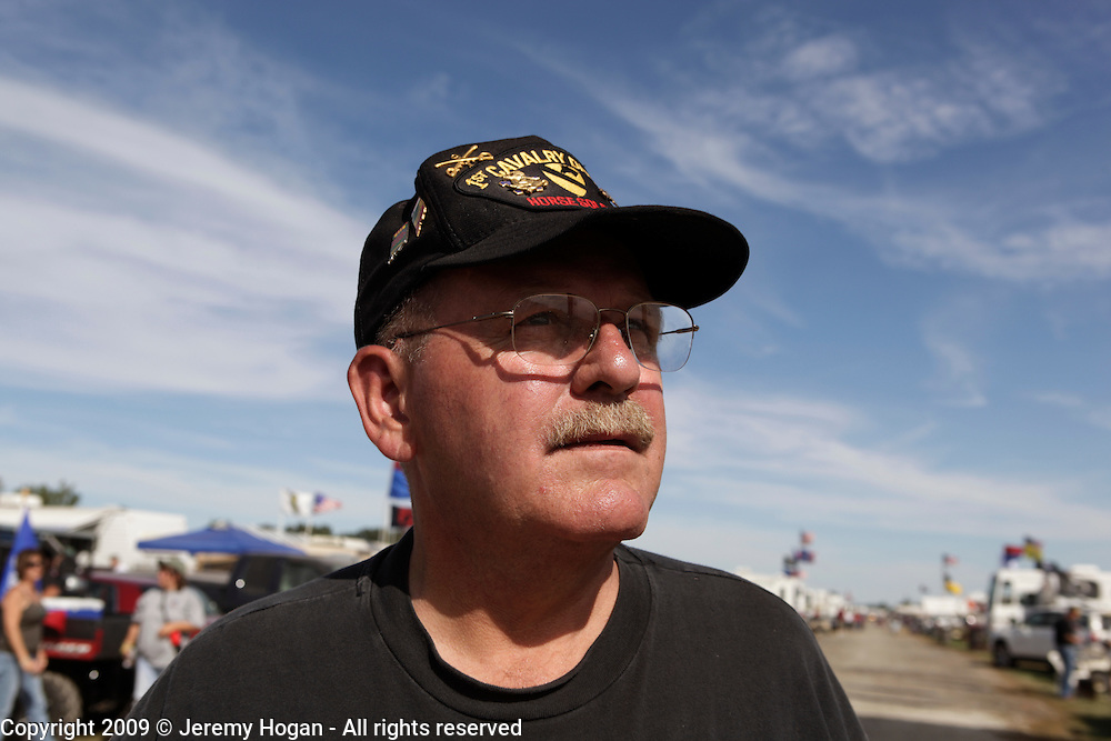 Vietnam Veteran Floyd Franks was in the Scouts platoon - white platoon - of B Troop, 1st Squadron, 9th Cavalry from 1969 until 1970 at Quan Loi. Vietnam Veterans gathering in Kokomo, Indiana for the 2009 reunion.