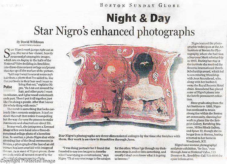 Sunday Boston Review <br /> <br /> www.StarNigro.com