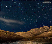 This beautiful mountain which resembles a man's face (looking upward) borders Mahabad city from the East!