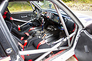 Lancia Martini interior during the Wales Rally GB at the Snowdonia National Park on 4 October 2019.