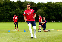 Ivan Lučić is put through his paces as Bristol City return to training ahead of their 2017/18 Sky Bet Championship campaign - Mandatory by-line: Robbie Stephenson/JMP - 30/06/2017 - FOOTBALL - Failand Training Ground - Bristol, United Kingdom - Bristol City Pre Season Training - Sky Bet Championship