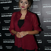 U Block 146 Brick Lane, London, UK. 10th October, 2017. Mehreen Baig attend the ActionAid Survivors Runway - fashion show showcase the inner strength and dignity of survivors who have had the courage to speak out against gender-based violence