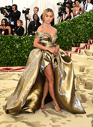 Jasmine Sanders attending the Metropolitan Museum of Art Costume Institute Benefit Gala 2018 in New York, USA. PRESS ASSOCIATION Photo. Picture date: Picture date: Monday May 7, 2018. See PA story SHOWBIZ MET Gala. Photo credit should read: Ian West/PA Wire