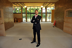 Aug. 13, 2009; South Bend, IN, USA; Kevin Lamarr James, photographed in the former Engman Natatorium, which will reopen as the South Bend Civil Rights Heritage Center.