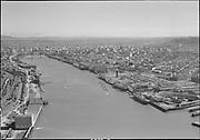 """Northwest Portland dock aerials. April 10, 1951"" (Wisco on right)"