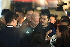 Zinedine Zidane in Hangzhou - 28 Nov 2018