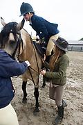 Lucinda Kelly at Connemara Pony show. Photo:Andrew Downes, xposure .