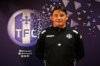 Mickael Debeve  - 16.03.2015 - Nouvel entraineur  - Conference de presse de Toulouse <br /> Photo :  Manuel Blondeau / Icon Sport<br />  *** Local Caption ***