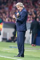Sporting de Lisboa coach coach Jorge Jesus during UEFA Europa League match between Atletico de Madrid and Sporting de Lisboa at Wanda Metropolitano in Madrid, Spain. April 05, 2018. (ALTERPHOTOS/Borja B.Hojas)