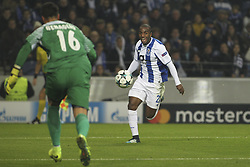December 6, 2017 - Porto, Porto, Portugal - Porto's Portuguese defender Ricardo Pereira (R) during the UEFA Champions League Group G match between FC Porto and AS Monaco FC at Dragao Stadium on December 6, 2017 in Porto, Portugal. (Credit Image: © Dpi/NurPhoto via ZUMA Press)