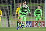 Forest Green Rovers George Williams(11) during the The FA Cup 1st round replay match between Forest Green Rovers and Oxford United at the New Lawn, Forest Green, United Kingdom on 20 November 2018.