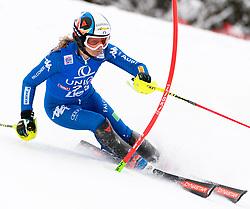 28.12.2017, Hochstein, Lienz, AUT, FIS Weltcup Ski Alpin, Lienz, Slalom, Damen, 1. Lauf, im Bild Manuela Moelgg (ITA) // Manuela Moelgg of Italy in action during her 1st run of ladie's Slalom of FIS ski alpine world cup at the Hochstein in Lienz, Austria on 2017/12/28. EXPA Pictures © 2017, PhotoCredit: EXPA/ Michael Gruber