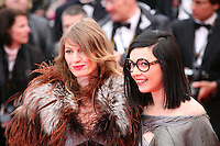 Singers Sylvie Hoarau and Aurelie Saada from the French folk musical duo Brigitte  arriving at the Vous N'Avez Encore Rien Vu gala screening at the 65th Cannes Film Festival France. Monday 21st May 2012 in Cannes Film Festival, France.