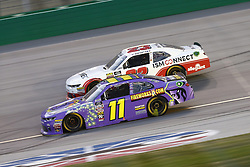 July 13, 2018 - Sparta, Kentucky, United States of America - Ryan Truex (11) and Spencer Gallagher (23) battle for position during the Alsco 300 at Kentucky Speedway in Sparta, Kentucky. (Credit Image: © Chris Owens Asp Inc/ASP via ZUMA Wire)