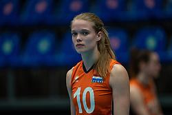 Iris Vos of Netherlandsafter semi final Netherlands - Serbia, FIVB U20 Women's World Championship on July 17, 2021 in Rotterdam