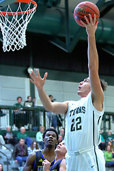07 December 2016:  Austin Amann during an NCAA men's division 3 CCIW basketball game between the North Park Vikings and the Illinois Wesleyan Titans in Shirk Center, Bloomington IL