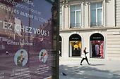 Avenue Montaigne Chanel Dior Loewe Coronavirus Paris