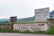 B Delagrange, Mersault, Volnay, Pommard, Beaune. The village. Pommard, Cote de Beaune, d'Or, Burgundy, France
