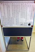 Nederland, Ubbergen, 9-6-2010Verkiezingen voor de tweede kamer.Netherlands, general elections.Foto: Flip Franssen/Hollandse Hoogte