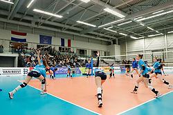 20180110 NED: CEV CUP Sliedrecht Sport - Beziers Angels VB: Sliedrecht<br />Warming up Sliedrecht Sport <br />©2018-FotoHoogendoorn.nl / Pim Waslander