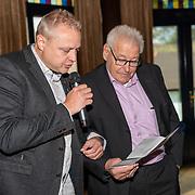 NLD/Ermelo/20190920 - Boeklancering De Beer van de Meer, Piet Schrijvers en zoon Patrick