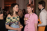 AMBER ATHERTON; PAULA GOLDSTEIN;, The Veuve Clicquot Business Woman Award. Claridge's Ballroom. London W1. 11 May 2015.