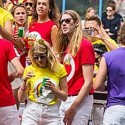 NLD/Amsterdam/20170805 - Gaypride 2017, BNN/VARA boot, Frank van der Lende