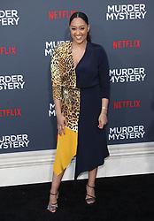 "LA Premiere Of Netflix's ""Murder Mystery"". 10 Jun 2019 Pictured: Tia Mowry. Photo credit: Jaxon / MEGA TheMegaAgency.com +1 888 505 6342"