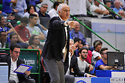 DESCRIZIONE : Beko Legabasket Serie A 2015- 2016 Dinamo Banco di Sardegna Sassari -Vanoli Cremona<br /> GIOCATORE : Cesare Pancotto<br /> CATEGORIA : Ritratto Allenatore Coach<br /> SQUADRA : Vanoli Cremona<br /> EVENTO : Beko Legabasket Serie A 2015-2016<br /> GARA : Dinamo Banco di Sardegna Sassari - Vanoli Cremona<br /> DATA : 04/10/2015<br /> SPORT : Pallacanestro <br /> AUTORE : Agenzia Ciamillo-Castoria/C.Atzori