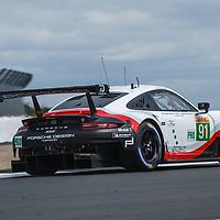 #91, Porsche Motorsport, Porsche 911 RSR, LMGTE Pro, driven by: Richard Lietz, Gianmaria Bruni on 16/08/2018 at the Silverstone 6H, 2018