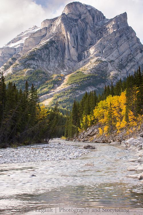 Mount Kidd (south peak), Kananaskis River, Alberta